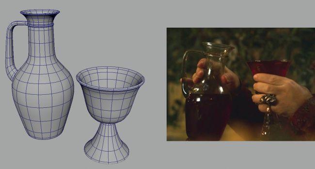 glass modeling - چگونگی طراحی مدل های سه بُعدی در ZBrush و Maya