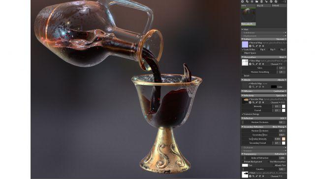 glass shader - چگونگی طراحی مدل های سه بُعدی در ZBrush و Maya