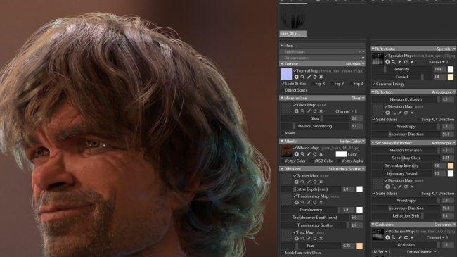hair shader - چگونگی طراحی مدل های سه بعدی در زیبراش و مایا
