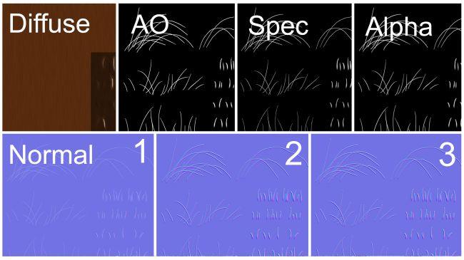 hair texture - چگونگی طراحی مدل های سه بُعدی در ZBrush و Maya