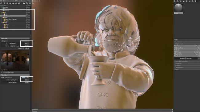 marmoset - چگونگی طراحی مدل های سه بُعدی در ZBrush و Maya