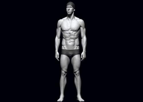 mojasamesazi anatomi zibrush2 - آموزش ساخت آناتومی در زیبراش