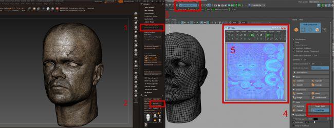 retopology - چگونگی طراحی مدل های سه بُعدی در ZBrush و Maya