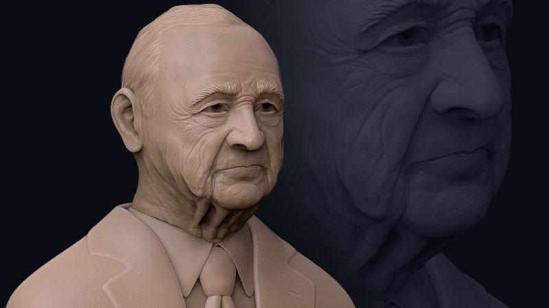 sculpting realistic bust zbrush - 6 روش برای افزایش سرعت مدل سازی در زیبراش