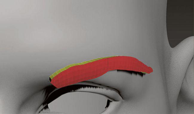 step12 adjust geometry - طراحی مو در زیبراش