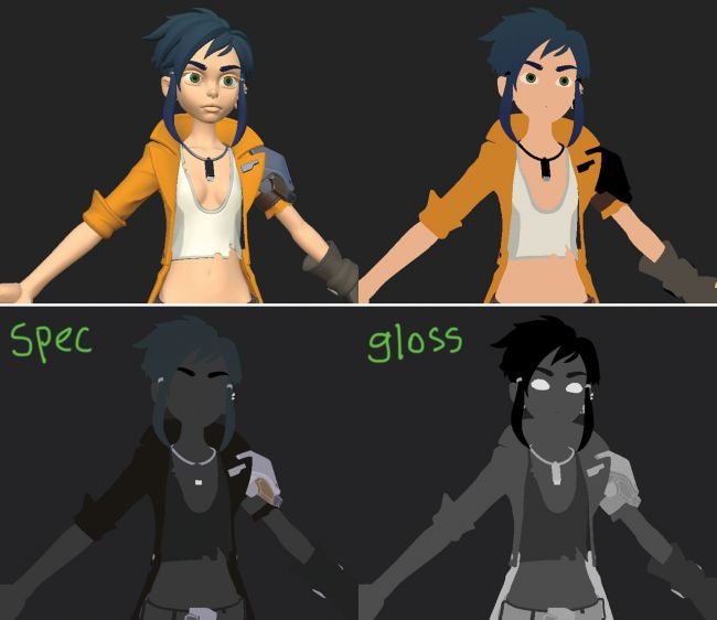 step12 video game character zbrush - ساخت شخصیت در زیبراش : چگونه یک شخصیت بازی ویدئویی را در ZBrush خلق کنیم.