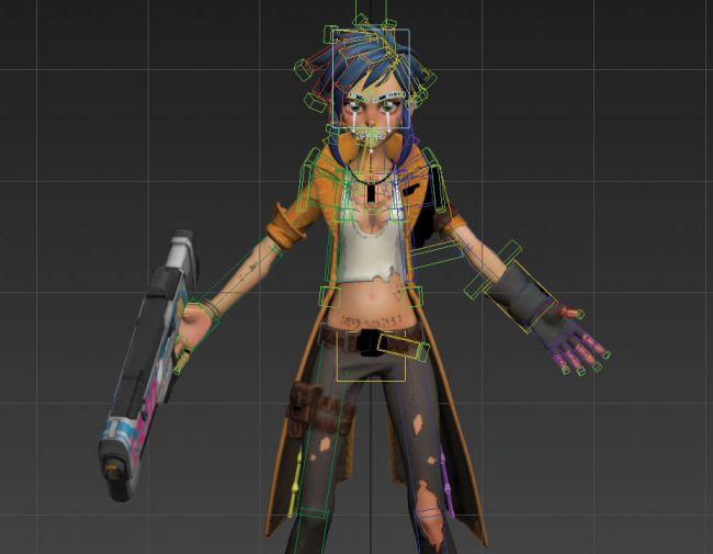 step21 video game character zbrush - ساخت شخصیت در زیبراش : چگونه یک شخصیت بازی ویدئویی را در ZBrush خلق کنیم.