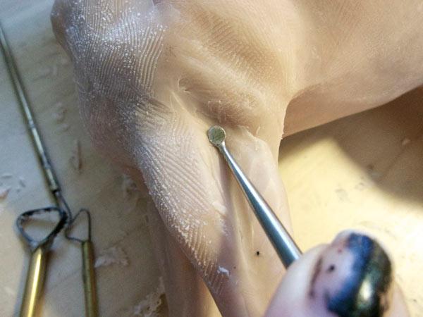 step7 pic1 polymerhorse - آموزش گام به گام ساخت مجسه پلیمری اسب