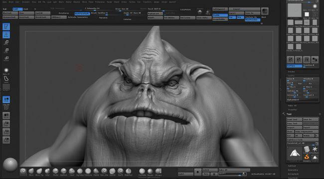 test render 8 - مدل سازی یک دزد دریایی با استفاده از ZBrush