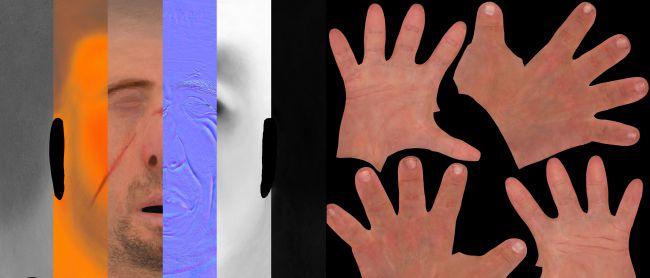 texture - چگونگی طراحی مدل های سه بعدی در زیبراش و مایا