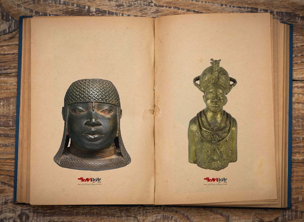 african sculptor Bronze casting - مجسمه سازی در آفریقا