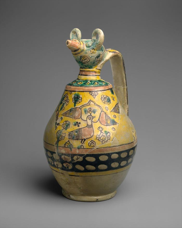albouye pottery - تاریخچه سفالگری در ایران