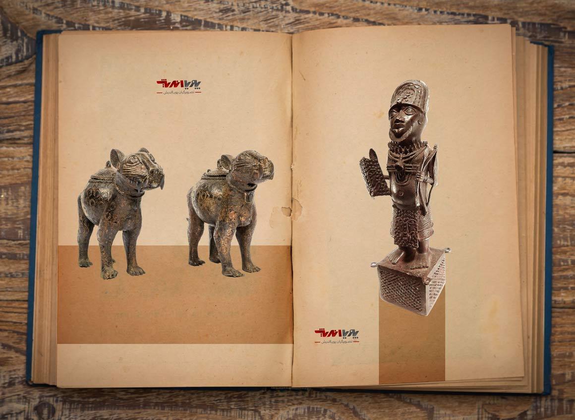 bronze african sculpture - مجسمه سازی در آفریقا