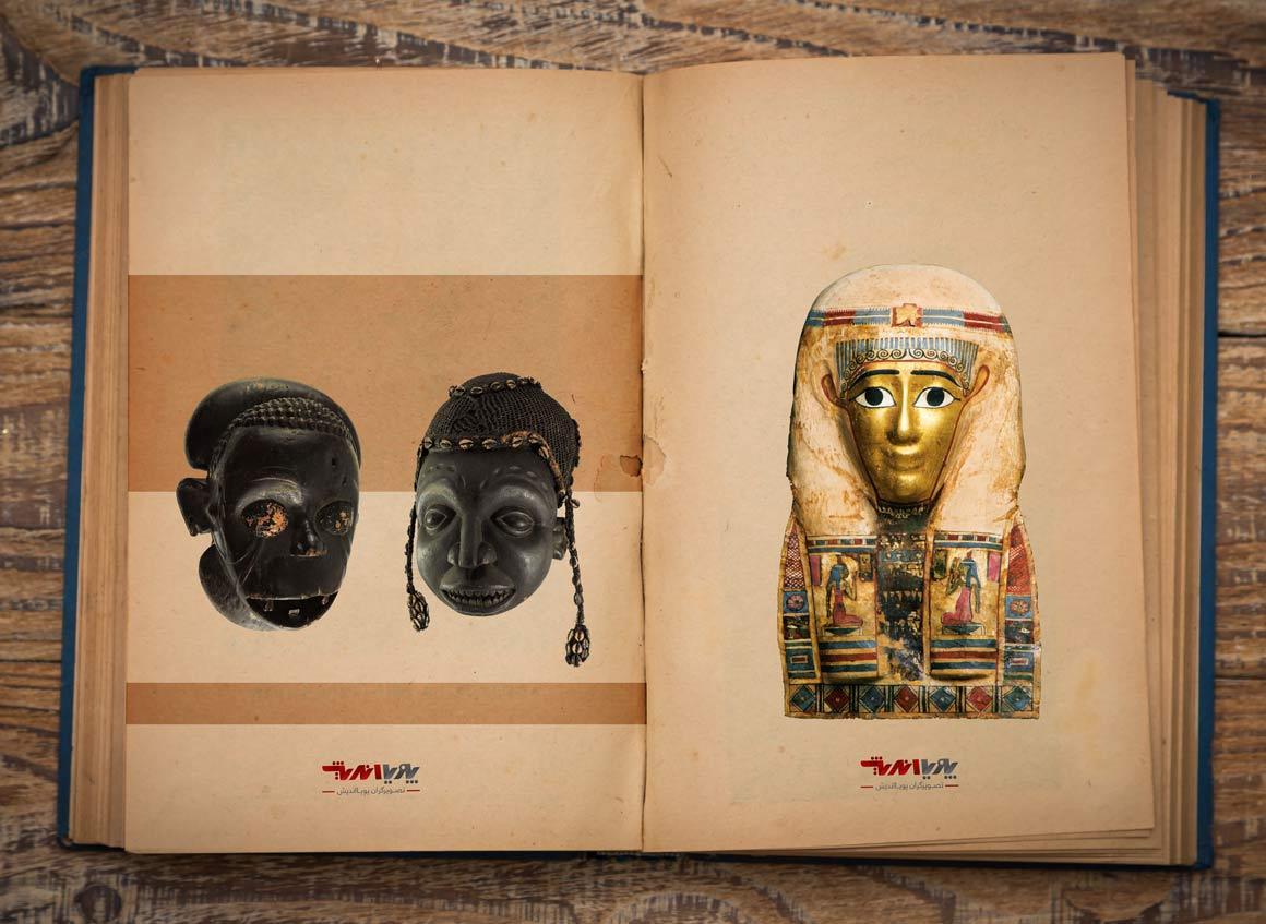masks in african - مجسمه سازی در آفریقا