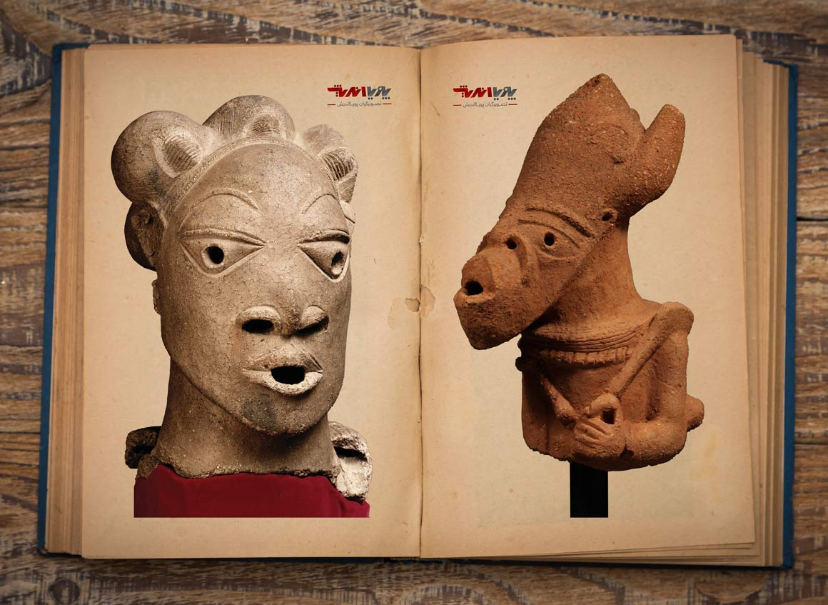 nok tribe sculpture - مجسمه سازی در آفریقا