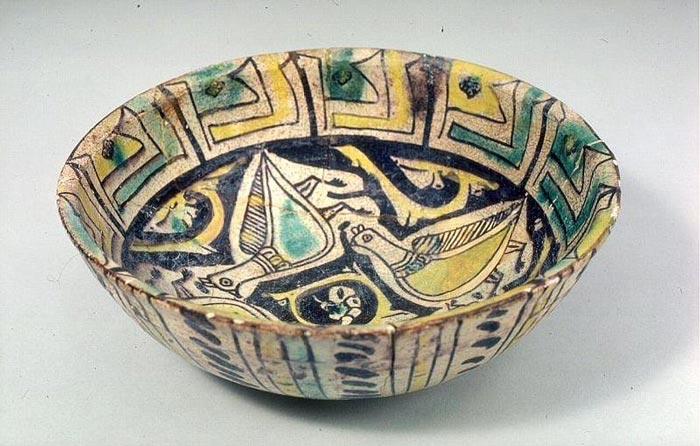 samanian potter art 1 - تاریخچه سفالگری در ایران