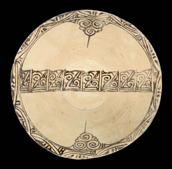 samanian pottery katibe - تاریخچه سفالگری در ایران