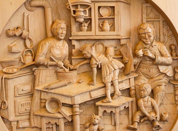 wood carving - تفاوت منبت کاری با معرق کاری چیست؟