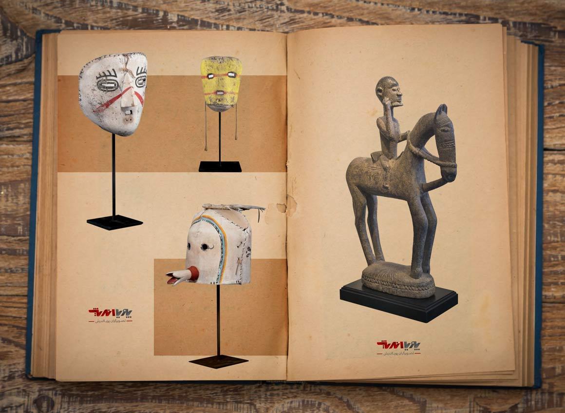 wooden sculpture in african - مجسمه سازی در آفریقا