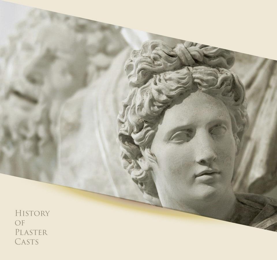 History of Plaster Casts sculpture - تاریخچه قالب سازی و ریخته گری