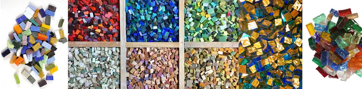 Mosaic Materials 2 - متریال های مورد استفاده در معرق کاشی