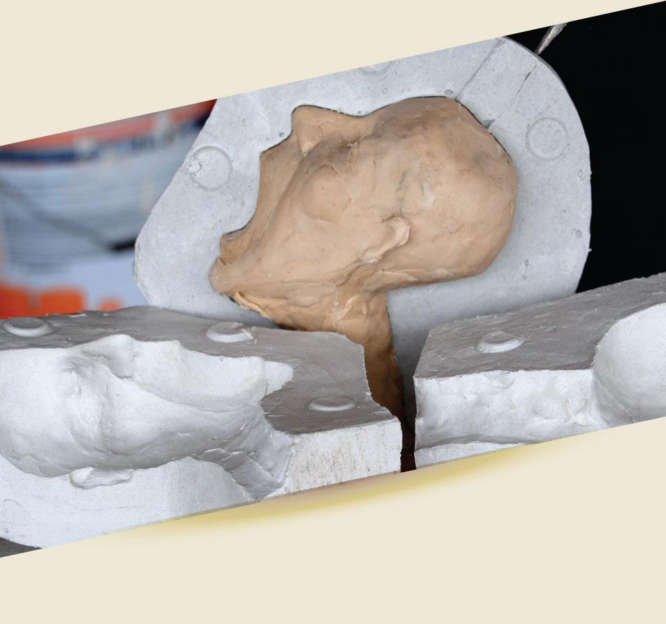 Plaster mold 2 - تاریخچه قالب سازی و ریخته گری