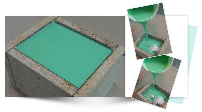 Two Piece Silicone Mold of Small Bust 4 - آموزش قالب گیری دو تکه از مجسمه نیم تنه کوچک