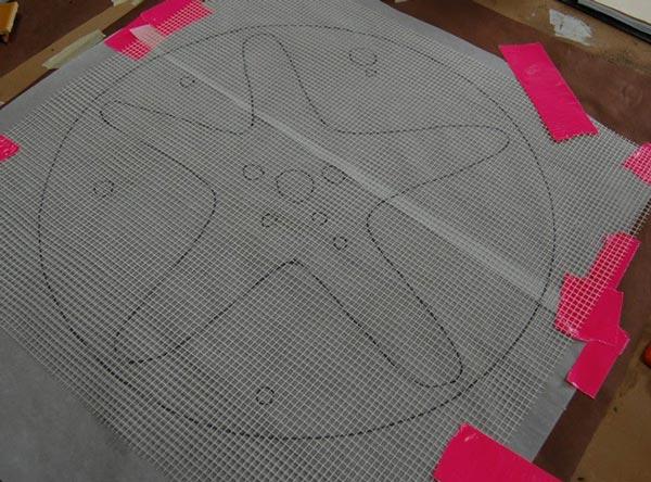 indirect mosaic 4 - روش غیرمستقیم ساخت کاشی شکسته