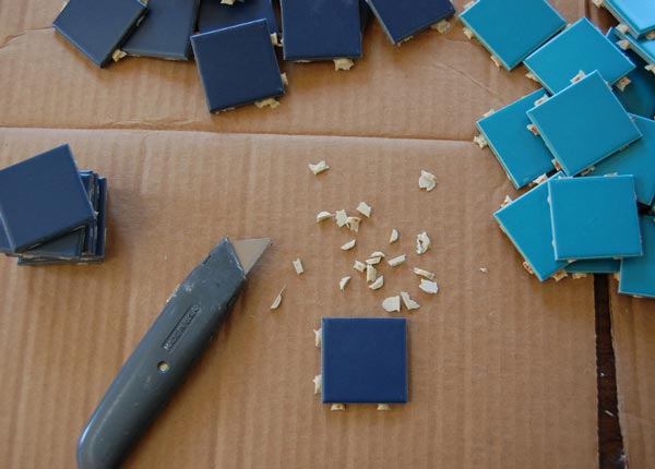 indirect mosaic 6 - روش غیرمستقیم ساخت کاشی شکسته