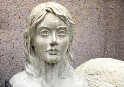 ghalebgiri class mojasame - مجسمه سازی ، آموزش مجسمه سازی ، آموزشگاه مجسمه سازی