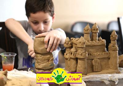 sofal kids class mojasame - مجسمه سازی ، آموزش مجسمه سازی ، آموزشگاه مجسمه سازی