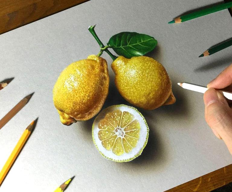 دوره های نقاشی سه بعدی