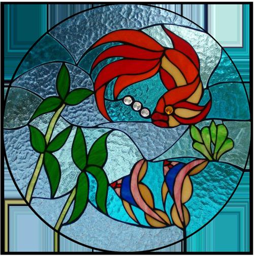 کلاس های ویترای نقاشی روی شیشه